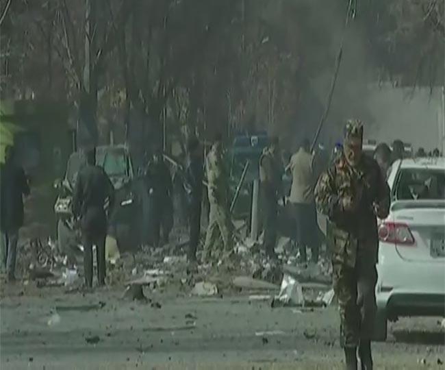 Image result for आत्मघाती हमले से दहला काबुल, 40 की मौत