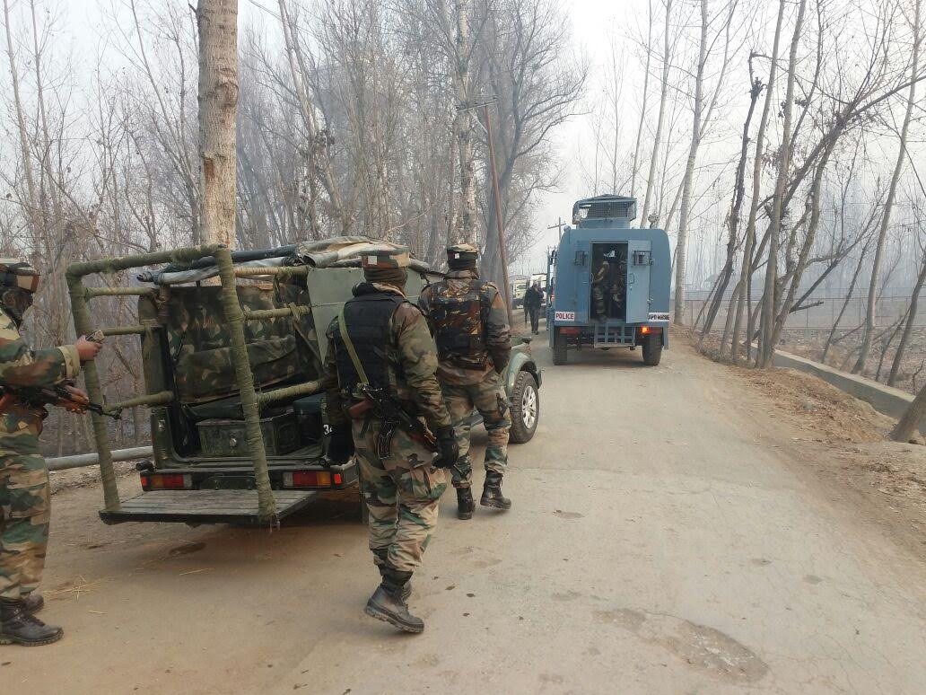 Four terrorists killed in encounter with security forces in Kulgam District of Jammu and Kashmir