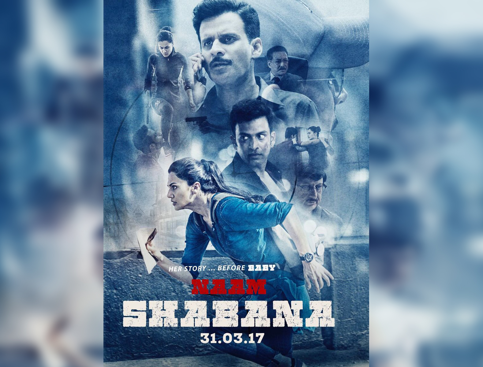 Posters out for 'Naam Shabana'.