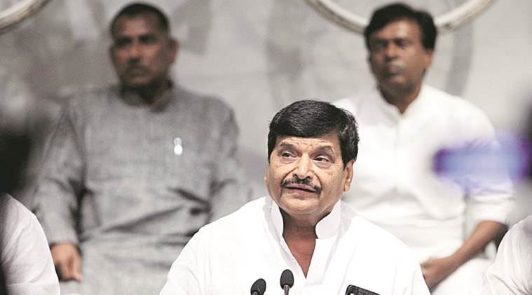 """""""I have not formed any new party and what I meant is that I will take any decision only after analyzing the election results"""", Shivpal."""