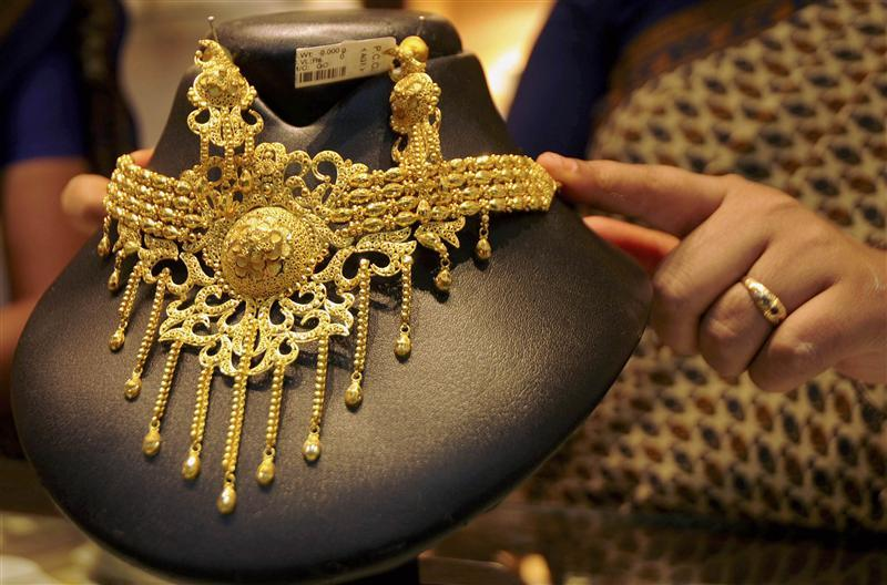 Increased buying by local jewellers to meet wedding season demand kept the gold prices higher