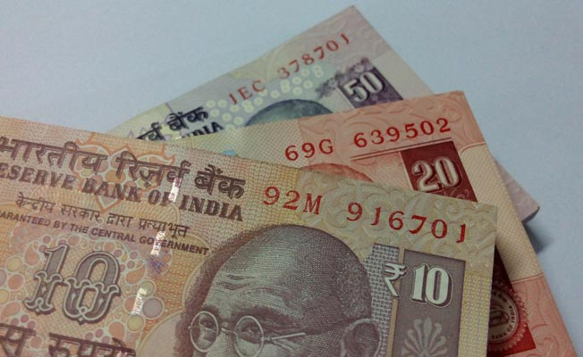 Rupee falls by 10 paise against US dollar