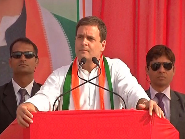 Rahul Gandhi launched a scathing attack at PM Modi at Barabanki rally