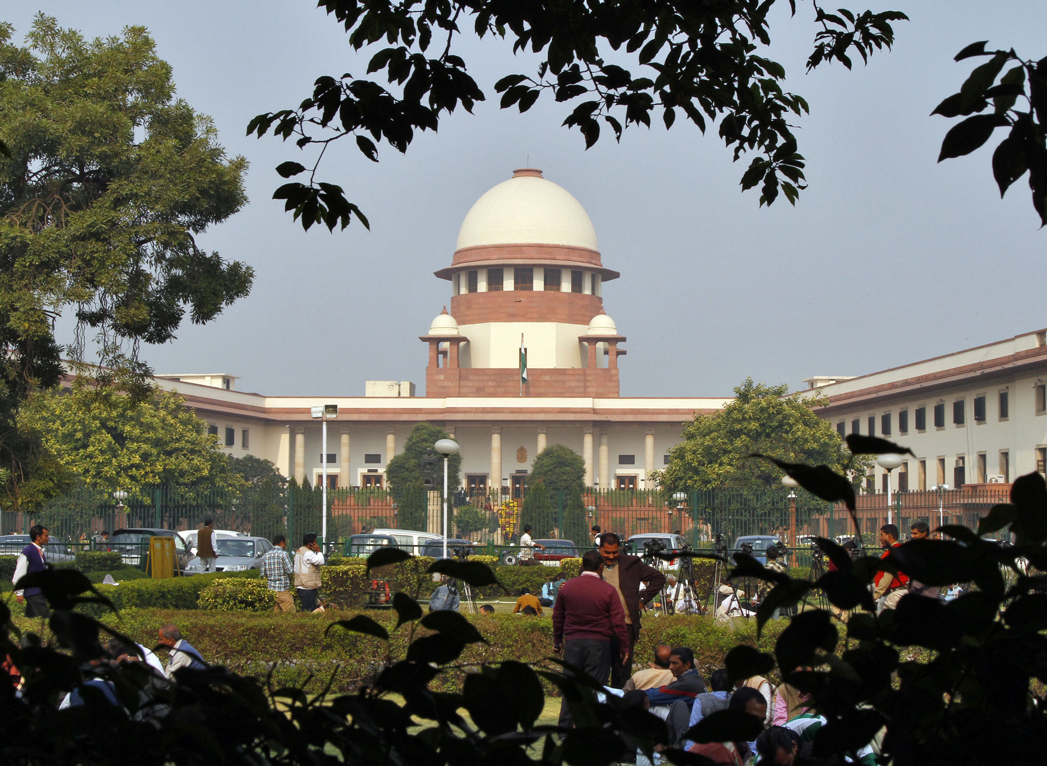 Outside view of Supreme Court