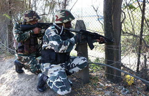BSF gunned down the terrorist in Keri Sector of Rajouri