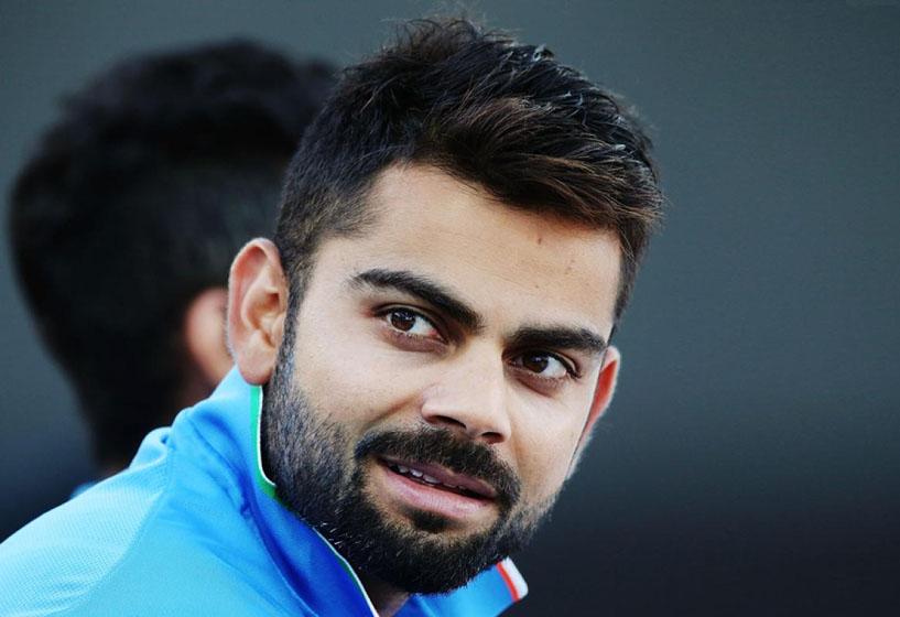 Indian cricketer Virat Kohli