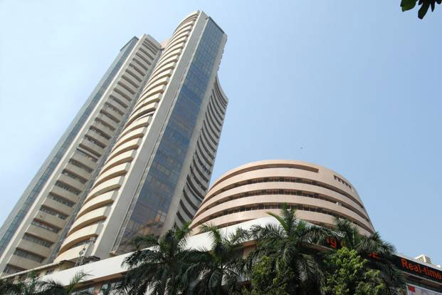 A view of Bombay stock exchange