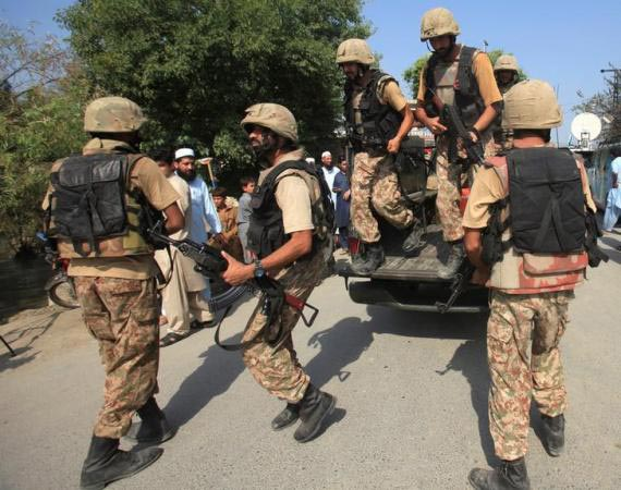 The crackdown was launched by the Counter Terrorism Department of the Punjab Police and the Punjab Rangers