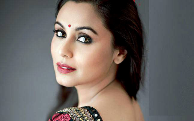 Bollywood actress Rani Mukerji