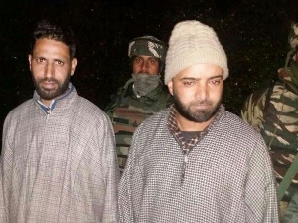 Two Over Ground Workers ( OGWs) of Jaish-e-Mohammad (JeM) were arrested