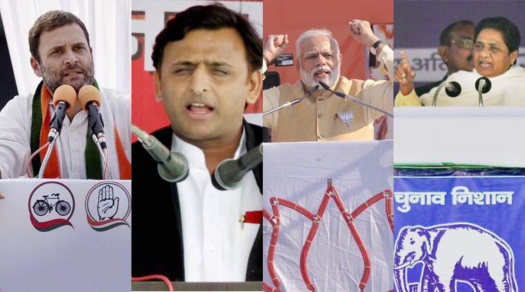A highly-charged final phase of campaigning for the Uttar Pradesh polls culminated.