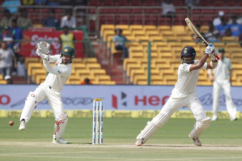 India set the visitors a target of 188 runs