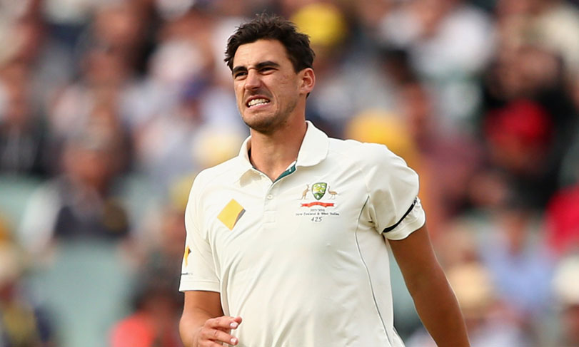 Australian cricketer Mitchell Starc