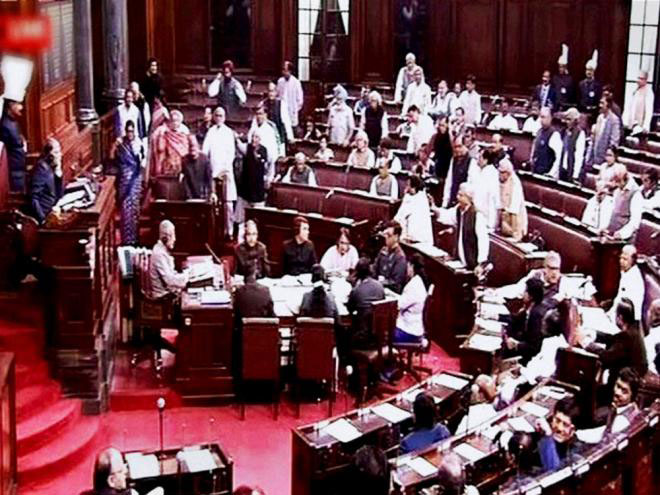 The House was adjourned prematurely for the day following the uproar