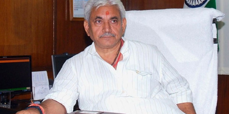 A file photo of Manoj Sinha