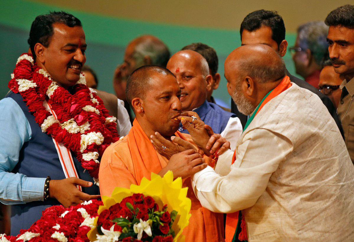 UP CM designate Yogi Adityanath