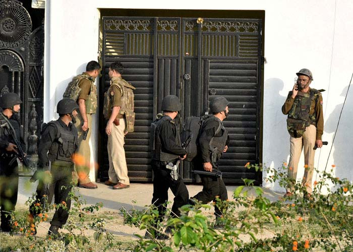 Lucknow terror operation (File Photo)