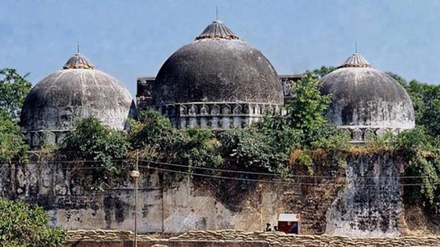 A file photo of Babri Masjid