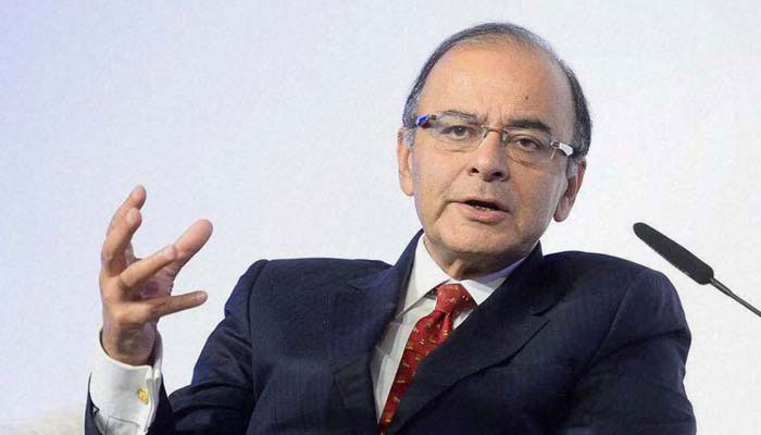 A file photo of FM Arun Jaitley