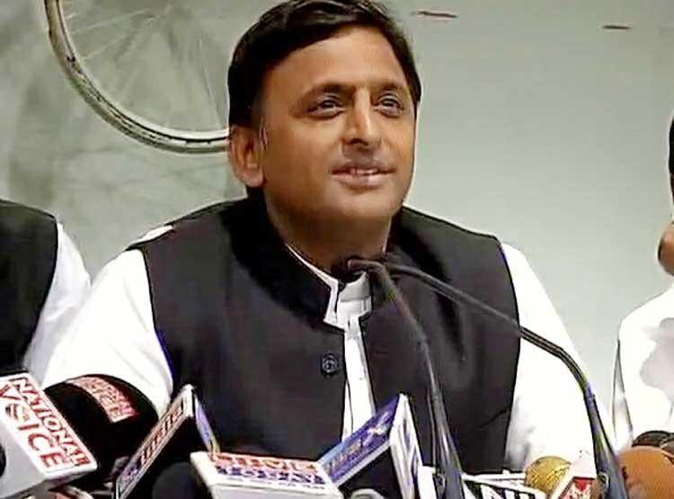 Samajwadi Party National Chief Akhilesh Yadav