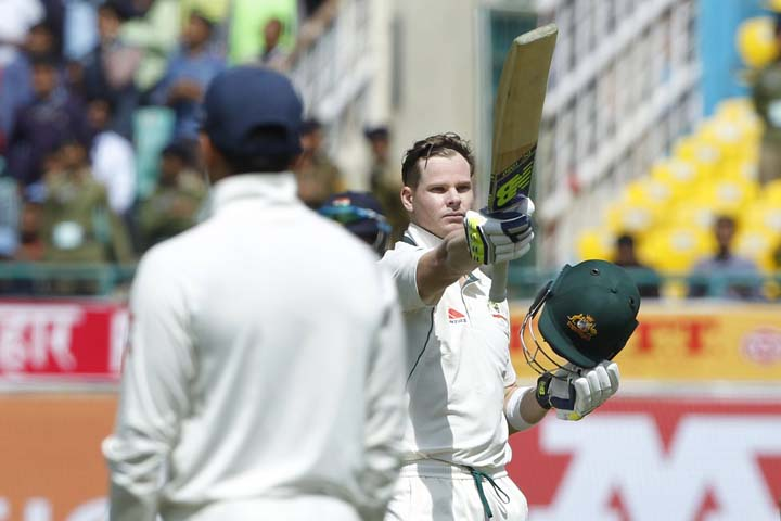 Australian cricketer Steve Smith