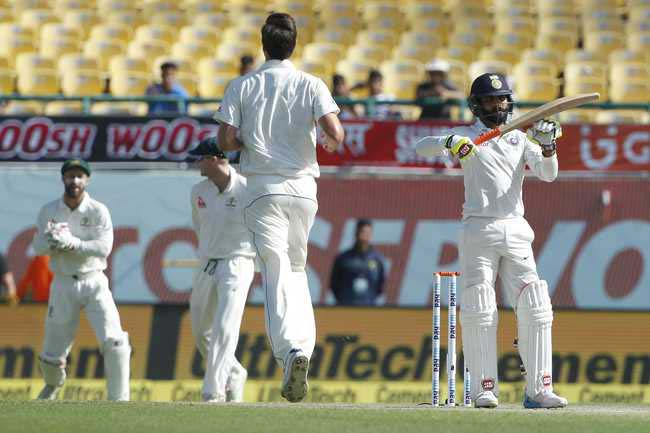 India all out for 332 runs