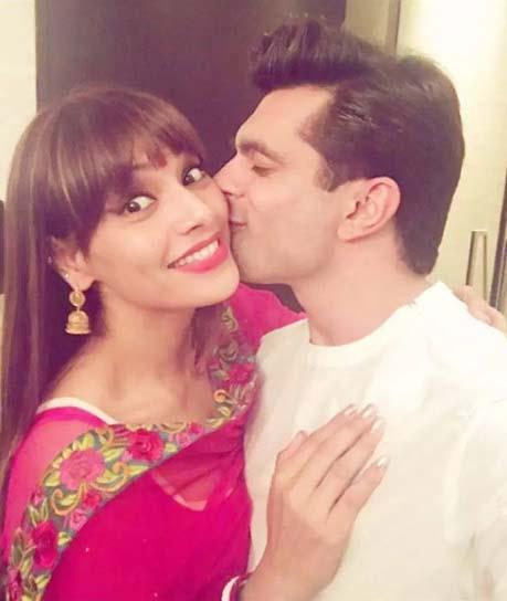 Bipasha Basu with her hubby Karan Singh Grover