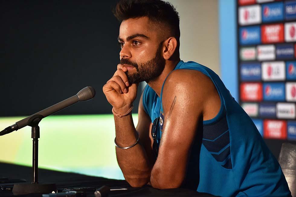 Indian player Virat Kohli