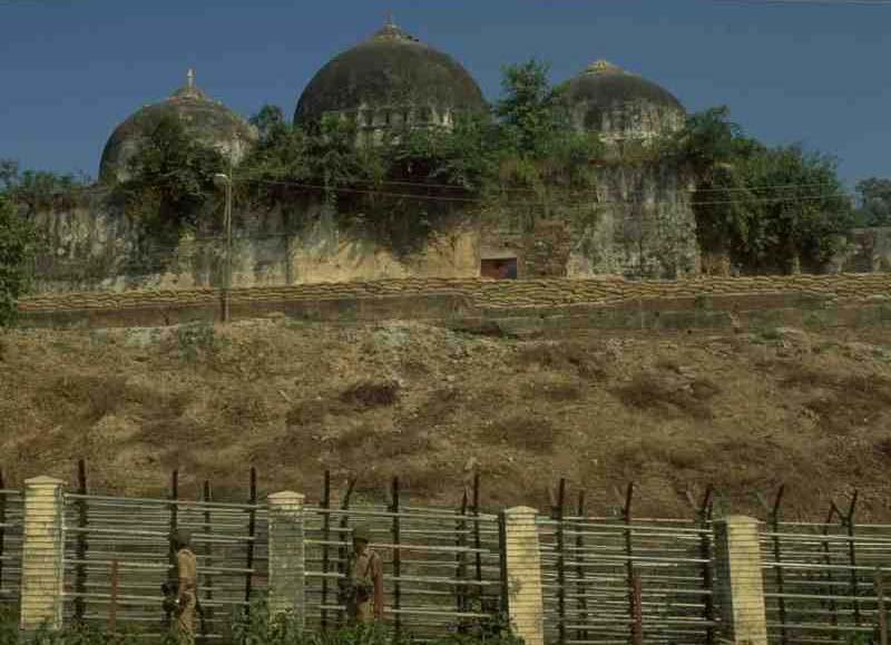 A file photo of Ayodhya land