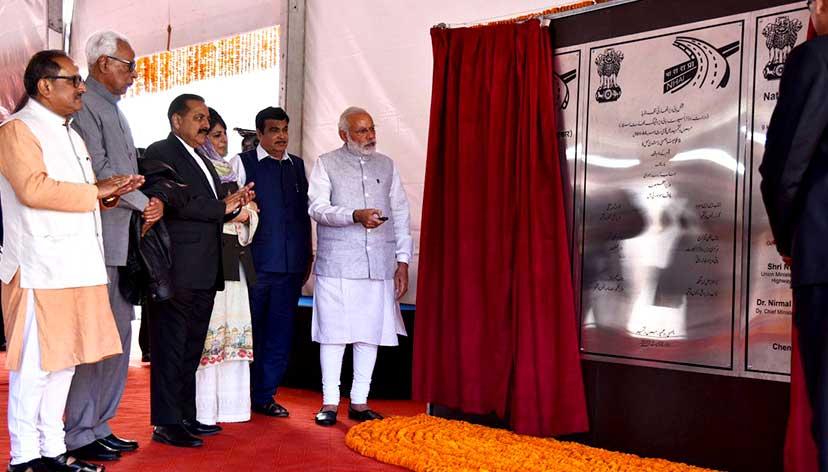 Modi inaugurates India's longest road tunnel