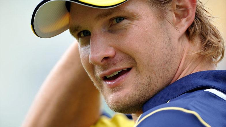 Australian cricketer Shane Watson
