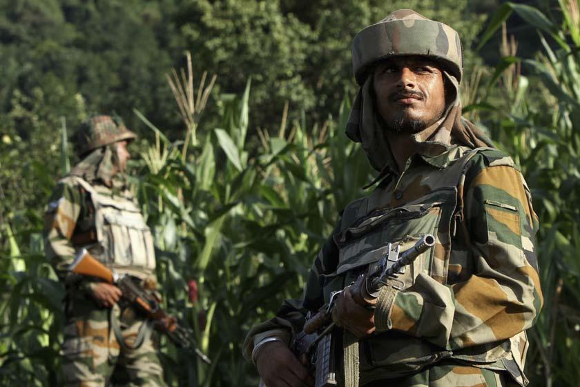 Ceasefire violation by Pakistan along LoC in Degwar sector.