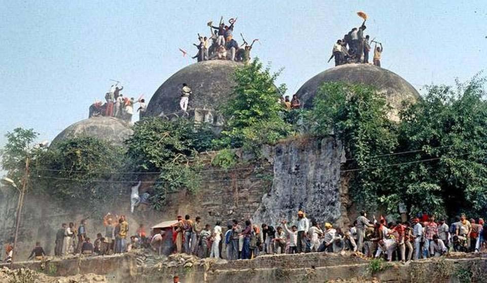 A view of Babri Masjid demolition (File Photo)