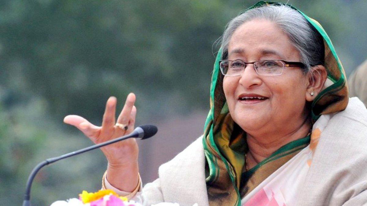 Bangladesh PM Sheikh Hasina (File Photo)