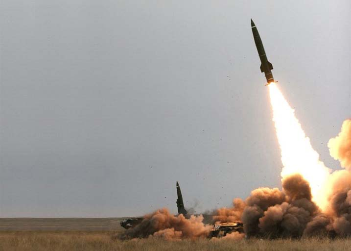 50-60 Tomahawk cruise missiles at a Syrian government (File Photo)