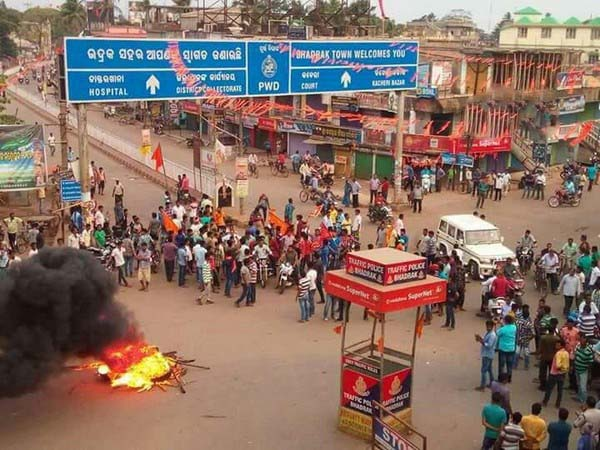 Section 144 has been imposed in Odisha's Bhadrak after protests broke out