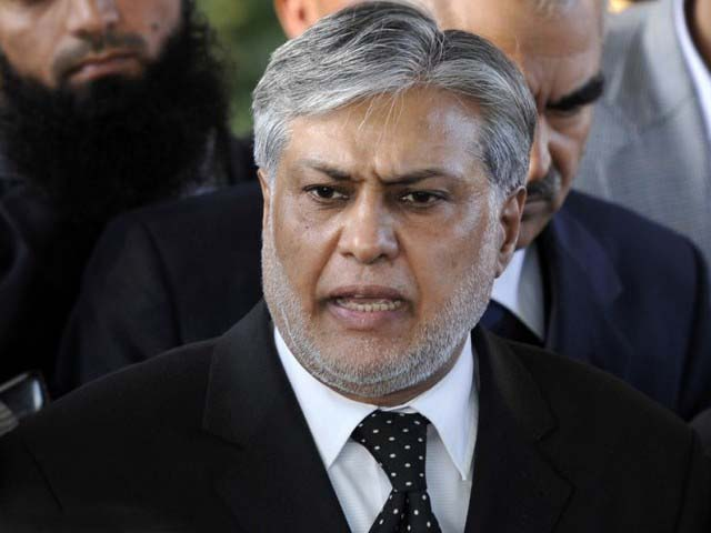 Pakistan Finance Minister Ishaq Dar