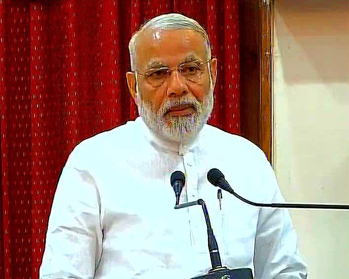 Prime Minister Narendra Modi in Odisha