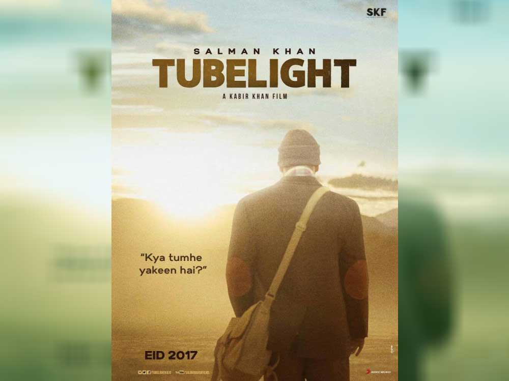 First Poster of Tubelight