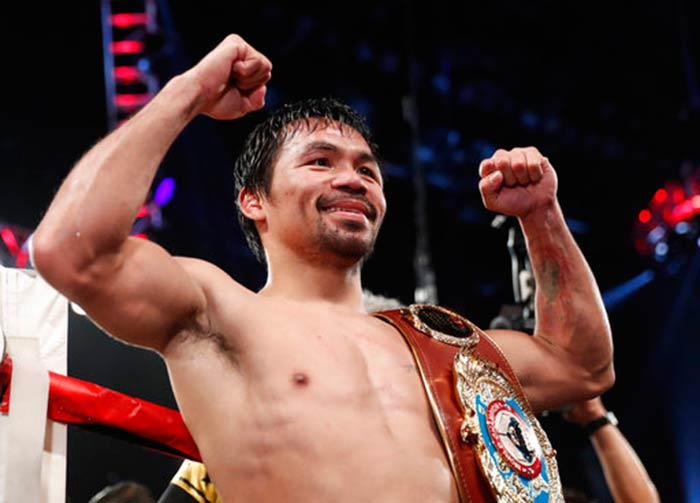 Manny Pacquiao, Filipino boxing legend