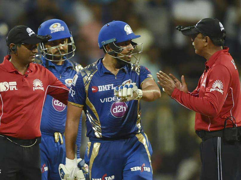 Rohit Sharma got into an argument with the umpire