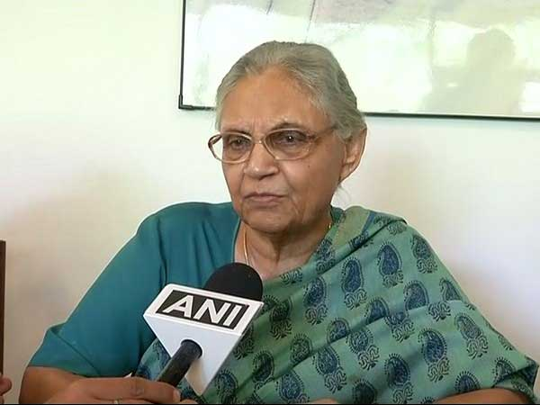 Former Delhi CM Sheila Dikshit