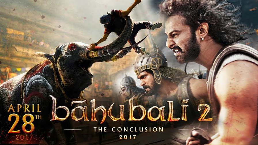 Prabhas and Rana Daggubati in 'Baahubali 2: The Conclusion'