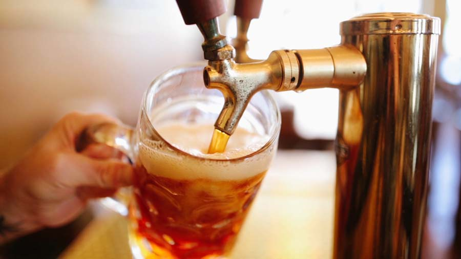 Drinking two beer may reduce the pain than painkiller.