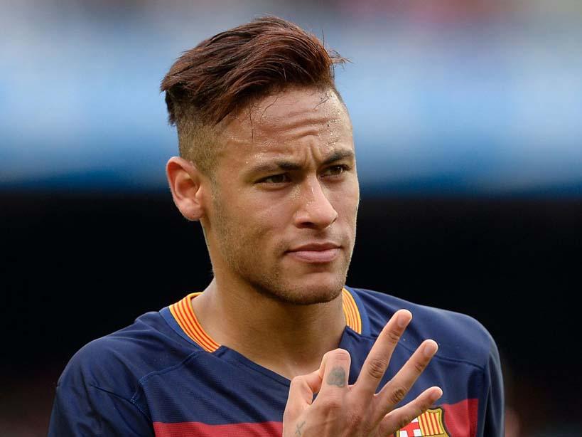 Barcelona star striker Neymar