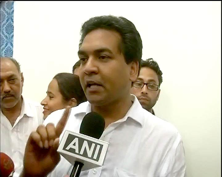 Kapil Mishra , Aam Aadmi Party (AAP) leader