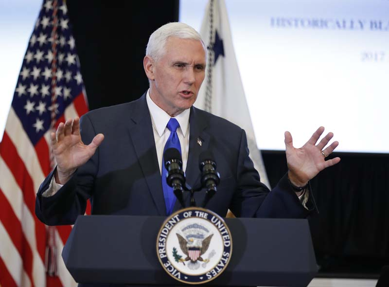 United States Vice President Mike Pence (File Photo)