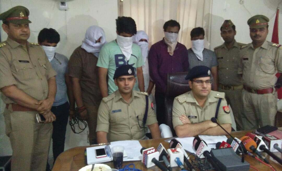 Five bookies arrested with Rs. 70,000 in Ghaziabad
