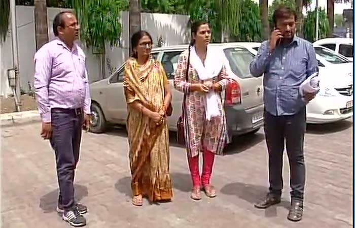 Family of IAS Anuraj Tiwari