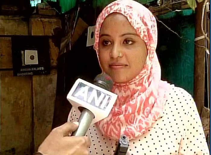 National level shooter Ayisha Falaq